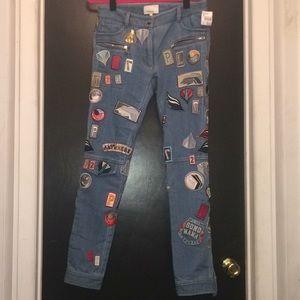 3.1 Phillip Lim Runway patch jeans